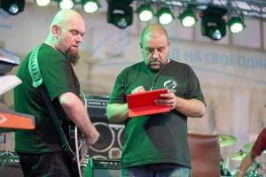 Monitor Engineering for Green Rock Fest Rousse